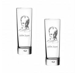 M. Atatürk Okkalı Rakı Bardağı