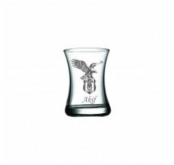 Matiz Kartal Logolu Çay Bardağı