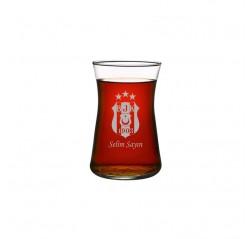 Beşiktaş Heybeli Çay Bardağı