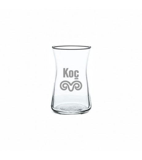 Firma Logolu Heybeli Çay Bardağı