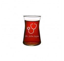 Doktora Heybeli Çay Bardağı