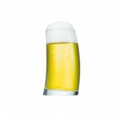 Sade ve Şık Logolu Bira Bardağı