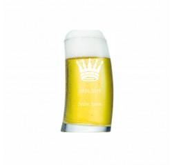 Kral Taçlı Bira Bardağı